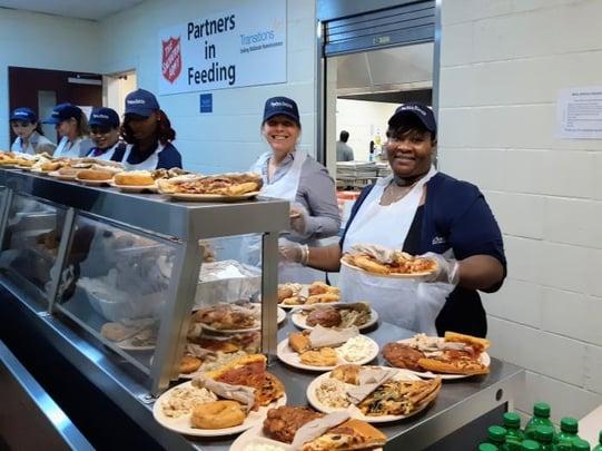 AllSouth Team Serves Meals